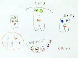 Рисунок: дети нам доверяют