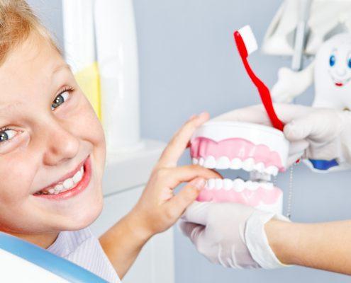 Гигиенические чистки зубов для детей