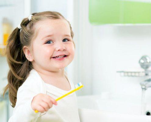 Обучение детей гигиене