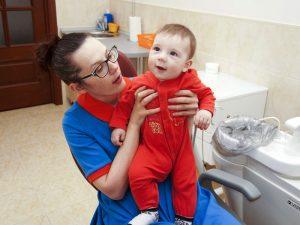 В детской стоматологии
